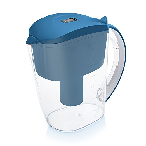 Wessper AquaPro 3.5L water filter jug with cartridges bundle (blue) (2.5 months of Wessper AquaPro) (1 cartridge)