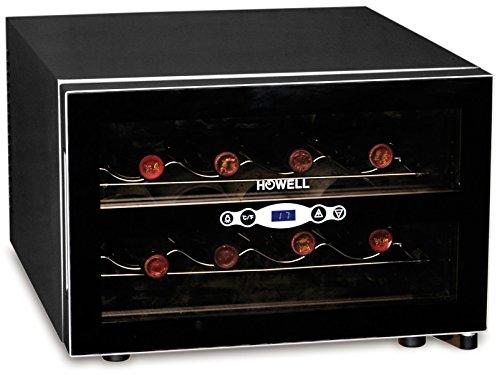 Howell HO.CV080 Libera installazione Nero 8bottiglia/bottiglie cantina vino