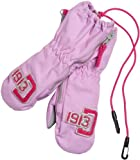 Didriksons Biggles Kids Childrens Boy Girls Babies Waterproof and Windproof Zip Mittens (Mitts) (Light Lupine, 0 - 2 years)