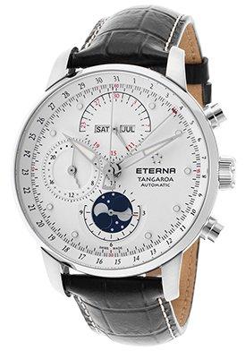 Eterna Tangaroa Uhr - Moonphase Chrono - Automatik - 2949.41.66.1261