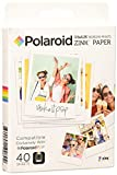 Polaroid Zink - Papel fotográfico para Polaroid Pop 2.0, 40 hojas