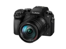 Panasonic Lumix DMC-G7 + H-FS14140 MILC 16 MP Live Mos 4592 x 3448 Pixeles Negro - Cámara Digital (16 MP, 4592 x 3448 Pixeles, Live Mos, 4K Ultra HD, Pantalla táctil, Negro)