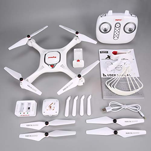 Per Syma X25PRO 2.4G GPS Posizionamento FPV RC Drone Quadcopter con 720P HD Wifi Regolabile...