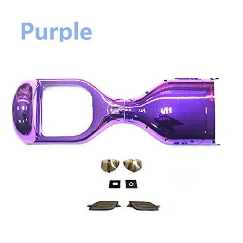 Wintech - Plastica esterna sostitutiva per hoverboard elettrico, 16,5cm, cromato, Purple