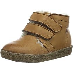 Naturino Unisex Baby Falcotto 1195 VL Sneaker, Braun (Braun_9113), 20 EU
