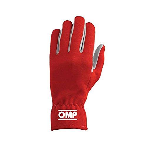OMP ompib/702/R/Xl Rally Guanti, colore: rosso, taglia XL