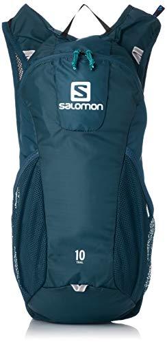 Salomon Mochila para running y senderismo 10L, trail 10, azul (Dark Blue y Ice Blue)
