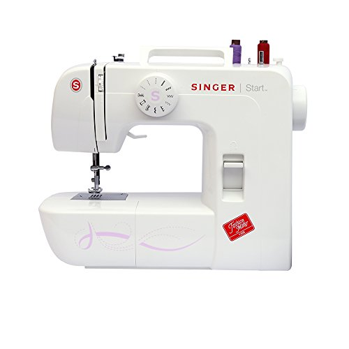 Singer Start 1306 - Máquina de coser mecánica, 6 puntadas, color blanco