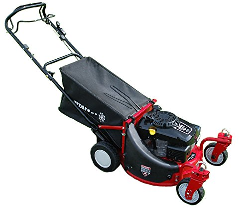Those looking to precisely mow around flowerbeds and trees will benefit greatly from this lawnmower. It suits any large garden as well, thanks to its extra-large 80 litre grass bag. Mulch option is also available to help return essential nutrients and minerals back to your lawn. Cutting height is spread across a wide range and that's a big advantage, specially if you mower very long grass.