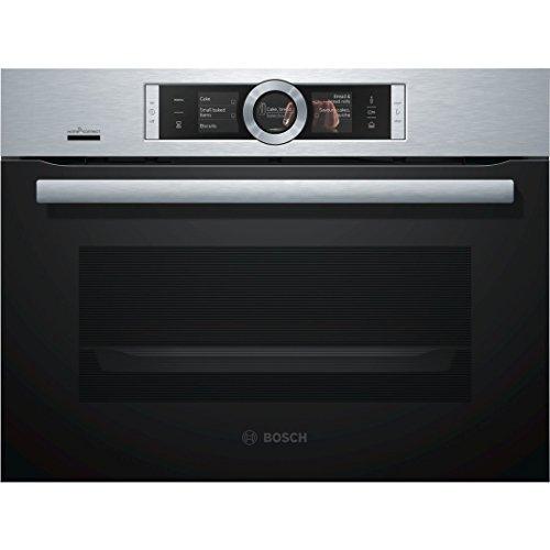 Bosch Serie 8 CSG656RS6 forno Forno elettrico 47 L Acciaio inossidabile A+
