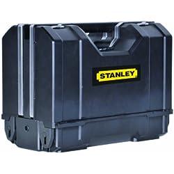 Stanley Tool Organizer System / Werkzeugkoffer 3-in-1 (31.2x23.4x42.6cm für Hand-, Elektrowerkzeuge und Zubehör, Innenteiler anpassbar) STST1-71963