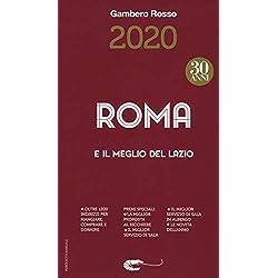 Roma e il meglio del Lazio del Gambero Rosso 2020
