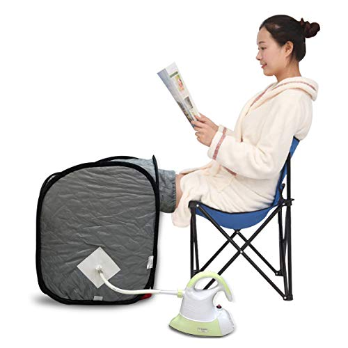 Kawachi Multipurpose Foot Knee Pain Relief and Facial Steamer Therapy Knee Steam Bath without Chair C186
