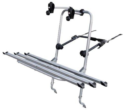 LOGIC 3 portabici posteriore per 3 biciclette, fissaggio meccanico