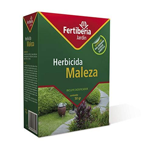 FERTIBERIA JARDÍN Herbicida Maleza para Matar Las Malas Hierbas - 50 gr (Ref: 7427)