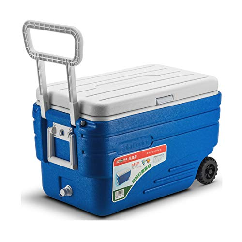 Frigorifero Portatile JCOCO 80L Deep Freeze Cerniera con Ruote con Cerniera Senza Cerniera - Box per...