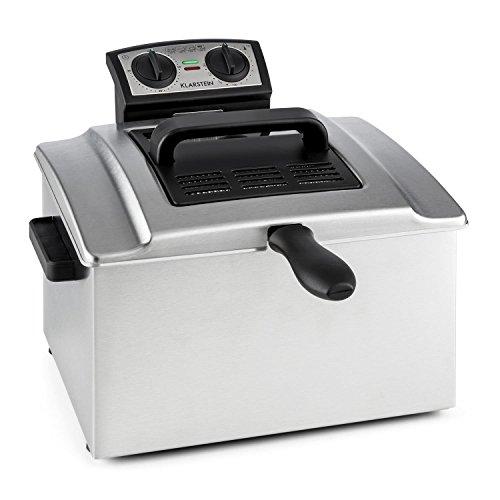 Klarstein QuickPro XXL 3000 • friggitrice • 3000 W • 5 L • fino a 1,5 Kg • fino a 190° C...