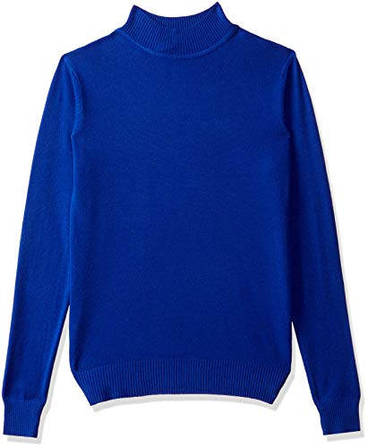 Qube By Fort Collins Women's Sweater (CH102_Blue_L)