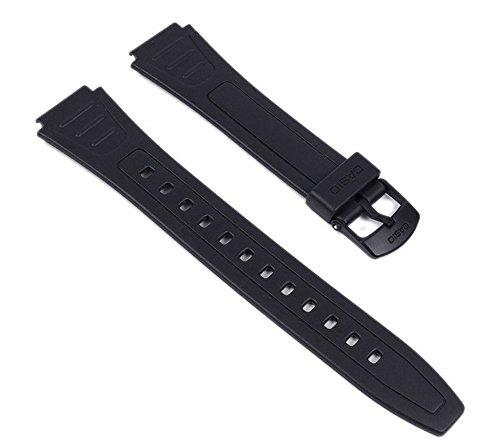 Casio 10268612 - Cinturino per orologio, uomo, resina, colore: nero