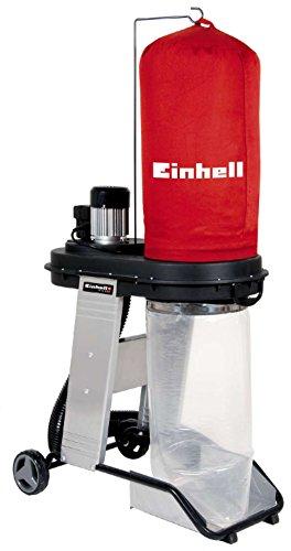 Einhell TE-VE 550 A Impianto di scarico (550 W, volume sacco di raccolta 65 l, vuoto 1,6 kPa, presa...
