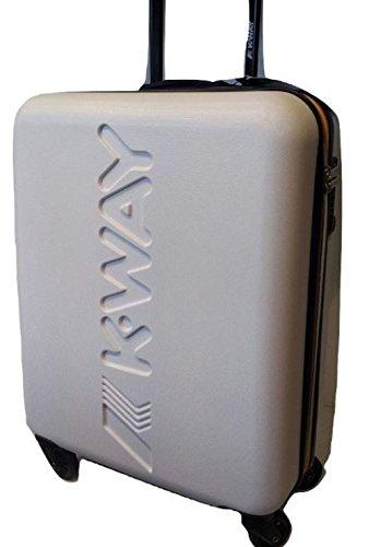 K-WAY CABIN TROLLEY K-AIR WHITE 8AKK1G010B901