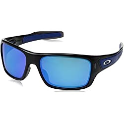 Oakley Turbine Gafas de Sol, Negro 58 para Hombre