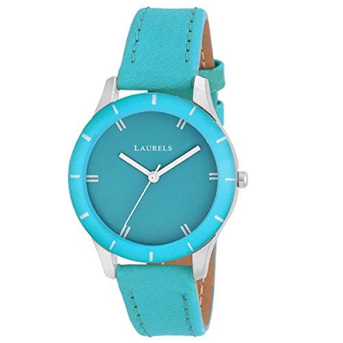 Laurels Colors Analog Blue Dial Women's Watch -Lo-Colors-1013