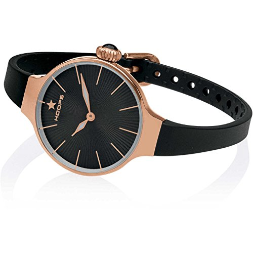 Orologio Donna Chérie Gold Nero 2583L-RG01 - Hoops