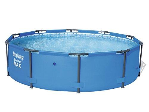 Bestway Steel Pro Frame Pool rund, ohne Pumpe, blau, 305 x 76 cm