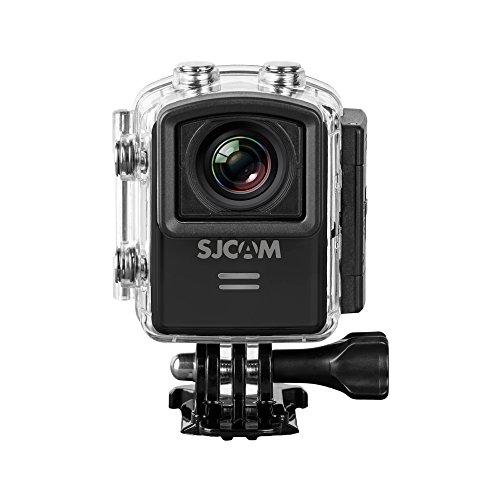 SJCam M20 (versión española) - Videocámara deportiva de 16 MP (WiFi, 4K, pantalla de 1.5'' LCD, sumergible hasta 30 metros) color negro