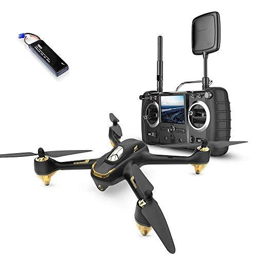 Hubsan H501S X4 Brushless Drohne GPS 1080P HD Kamera 5.8 Ghz FPV 2.4 Ghz RC Quadcopter Mit H906A Sender Schwarz Pro Version Mit 2 Batterien Für Drohne
