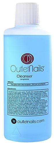 Cleaner para Gel 100ml Azul - Aroma Coco - Eliminar la capa pegajosa de geles UV/Esmaltes permanentes/Shellac/Esmaltado Permanente/Cleanser para uñas de gel
