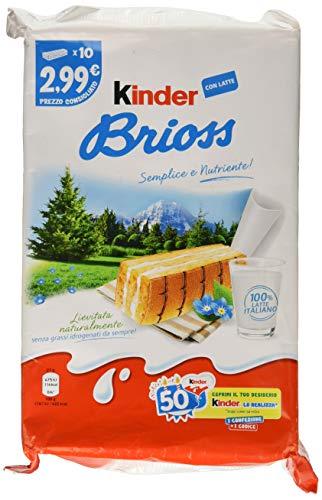 Kinder Brioss - Confezione da 10 Pezzi