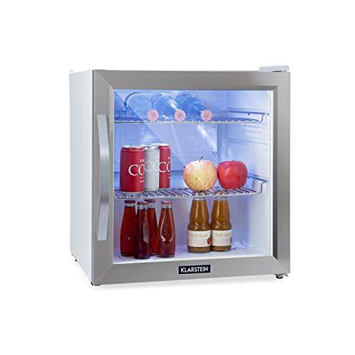 Klarstein Beersafe L Crystal • Frigorifero • Mini Frigo • Minibar • Porta in Vetro • 47 L...