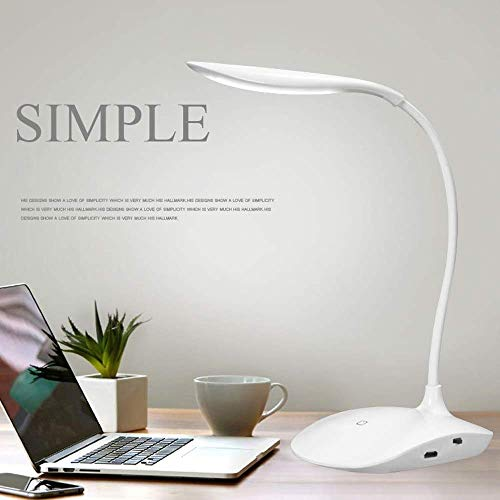 Azacus Touch Switch Desk Lamp Eye Protection Desk College Student Dormitory Lamp Creative Storage Convenience Lamp