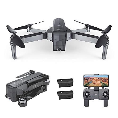 Goolsky Drone SJ R / C F11 1080P 5G WiFi FPV GPS Senza spazzole con Telecamera 1080p 120 ¡ã grandangolare Follow Me RC Quadcopter con batterie 1/2/3 (Opzionale)
