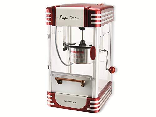 Emerio Popcornmaschine POM-120650, antihaftbeschichteter Behälter auch für süßes oder salziges...