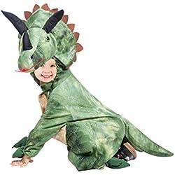 Disfraz de Dino Triceratops, F123 tamaño 5-6 anos, para niños, disfraces para carnaval, dinosaurio-s para niños pequeños, regalo de cumpleaños