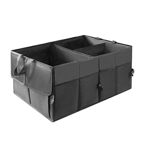 boite rangement coffre de voiture simike organiseur coffre sac caisse voiture pliable tissu. Black Bedroom Furniture Sets. Home Design Ideas