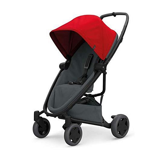 Quinny Zapp Flex Plus, Passeggino Leggero e Compatto, reversibile fronte strada e fronte mamma,...