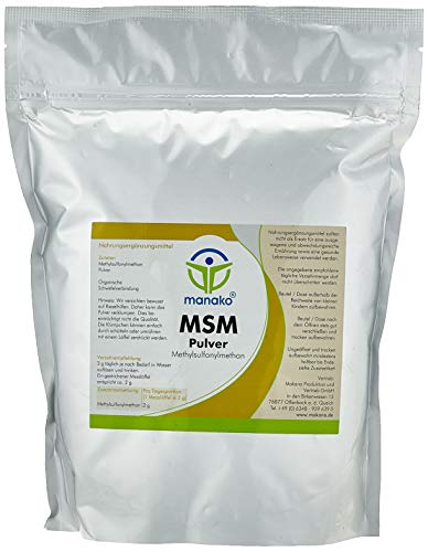 manako MSM (Methylsulfonylmethan) kristallines Pulver,...