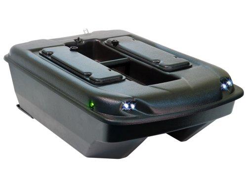 Carp Madness - Kit di montaggio per barchino pasturatore, 2,4 GHz, colore nero
