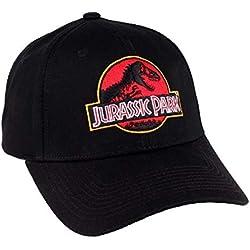 Jurassic World Casquette Jurassic Park-Logo, Visera Unisex Adulto, Multicouleur, Talla única