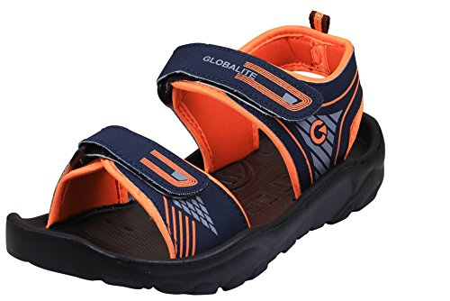 Globalite Men's Sandal Comfort GPD0126 UK IN-8