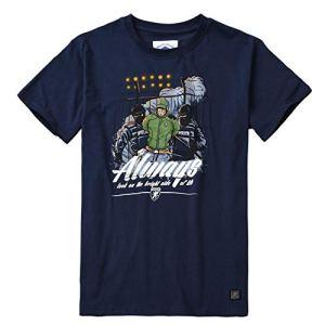 PG-Wear-Herren-T-Shirt-Bright-Side-Navy-S-XXXL
