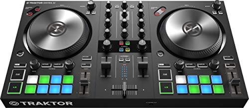 Native Traktor Kontrol S2 Mk3, Mixer DJ, Nero