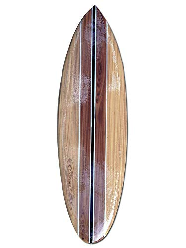 Seestern Sportswear FBA_1852 - Tabla de Surf (Madera, 50,80 o 100 cm), diseño de aerógrafo