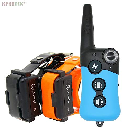 Petsdelite Pet619 for 1 Dog: 10 Pcs/Lot Remote Dog Electronic Training Collar with Shock Vibration and Beep Function Rechargeable