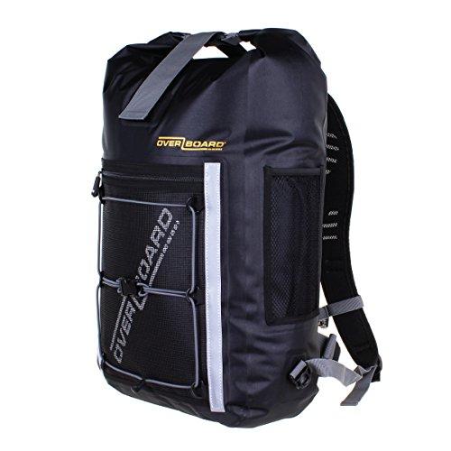Overboard Pro-Sports - Zaino ultraleggero impermeabile, colore: nero; capacità: 20 L