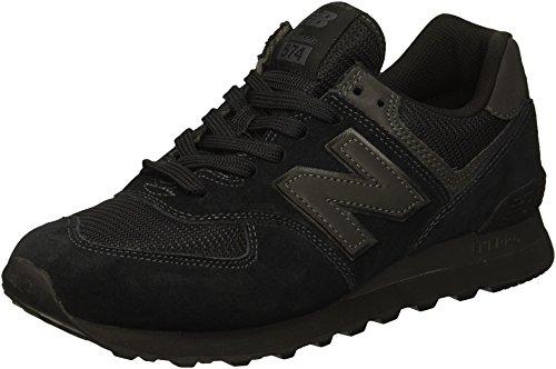 New Balance Herren 574v2 Core Sneaker, Schwarz (Black Black), 44 EU